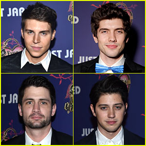 Nolan Gerard Funk Makes Us Swoon at Just Jared Homecoming Dance