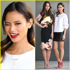 Jamie Chung & Genesis Rodriguez Buddy Up for 'Big Hero 6'
