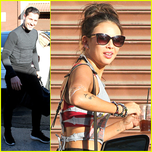 Janel Parrish & Val Chmerkovskiy Need Your Help With Their Quickstep!