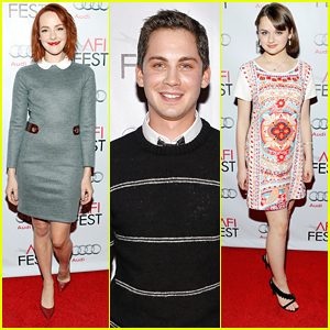 Jena Malone & Logan Lerman Lead The Young Hollywood Panel During AFI Fest