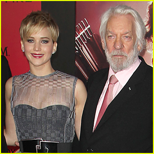 Jennifer Lawrence & Jesus Christ Are Similar in Donald Sutherland's Eyes