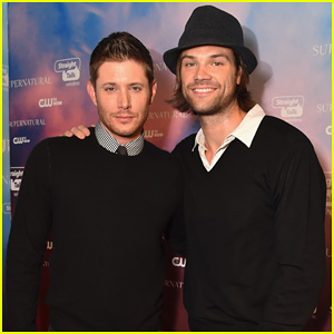Jensen Ackles & Jared Padalecki Celebrate 'Supernatural's 200th Episode at CW's Fan Party!