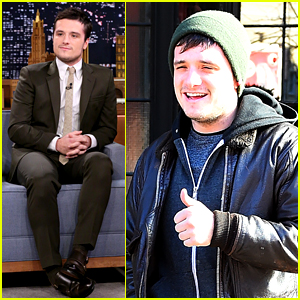 Josh Hutcherson Answers Twitter Questions on 'Fallon'