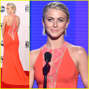 Julianne Hough's Dress Is Seriously Stunning at the AMAs 2014