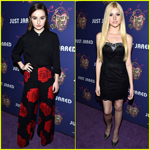 Kaitlyn Dever & Katherine McNamara Give Us Chic Style at Just Jared's Homecoming Dance!
