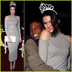 Kendall Jenner Wears Her JJ Homecoming Crown Like a True Queen!