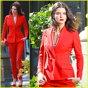 Kendall Jenner Gets Back to Work on a Photo Shoot After 19th Birthday Celebration