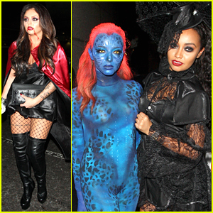 Little Mix Reigns Supreme In The Halloween Costume Game - See The Pics!