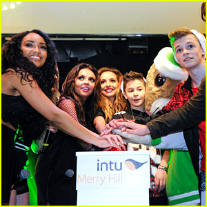 Little Mix Switches On The Christmas Lights in Birmingham