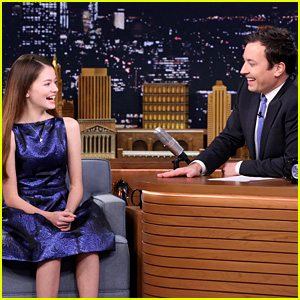 Mackenzie Foy Takes Down Jimmy Fallon with Her Stellar Taekwondo Moves! (Video)