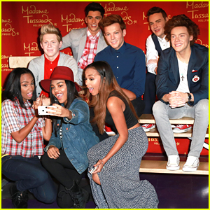 Mcclain meet one direction in hollywood their wax figures mcclain meet one direction in hollywood their wax figures actually m4hsunfo
