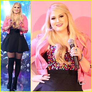 Meghan Trainor Moves Her 'Bass' for 'DWTS' Finale Performance - Watch Now!