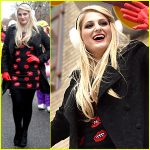 Meghan Trainor's Lips Were Movin at the Thanksgiving Day Parade!