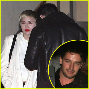 Miley Cyrus Goes to the Movies with Patrick Schwarzenegger & His Family!