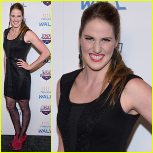 Olympic Swimmer Missy Franklin Attends Docu-Film Premiere, Insists She's Not Famous