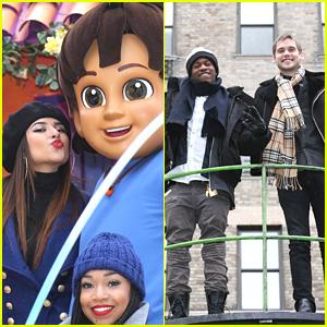 MKTO & Becky G Hang With Nickelodeon at Macy's Thanksgiving Day Parade 2014