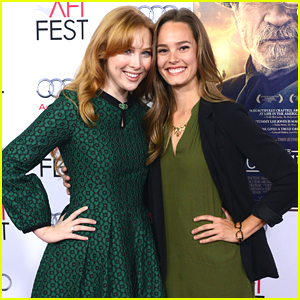Molly Quinn & Bailey Noble Take 'The Haircut' To AFI Fest