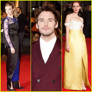 Natalie Dormer & Jena Malone Look Super Chic for 'Hunger Games: Mockingjay' Premiere