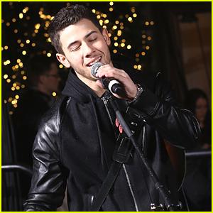 Nick Jonas Reveals Lord & Taylor's Holiday Windows!