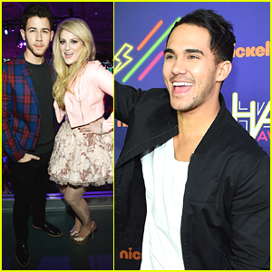 Nick Jonas & Meghan Trainor Get Ready For Nickelodeon HALO Awards 2014