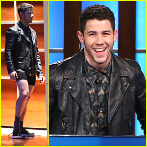 Nick Jonas Isn't Taking Off His Shirt No More, But He Is Taking Off His...