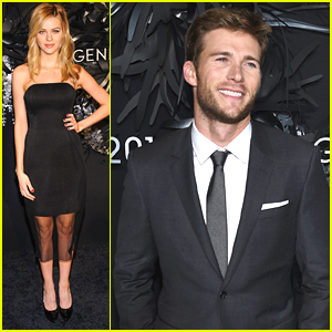 Nicola Peltz & Scott Eastwood Hand Out The Hugo Boss Prize 2014