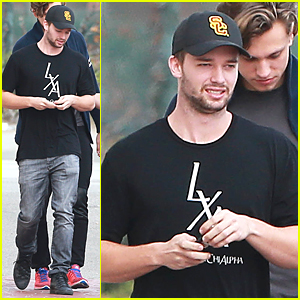 Patrick Schwarzenegger Meets With Friends After Date With Miley Cyrus