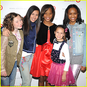 Quvenzhane Wallis & The 'Annie' Orphans Celebrate The 'Annie For Target' Launch
