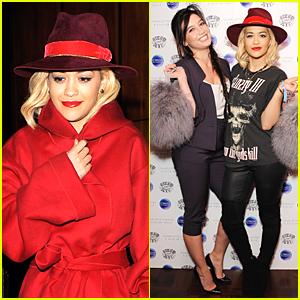 Rita Ora Get Back to London For Charlotte Simone x Kyle De'volle Bon Bon Bag Launch
