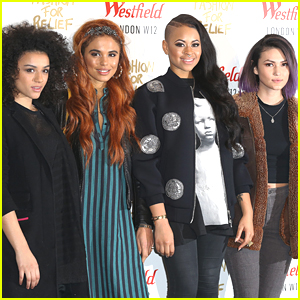 Neon Jungle & RJ Mitte Step Out For Fashion For Relief