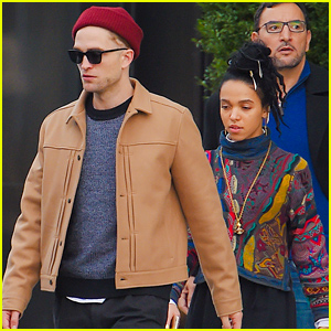 Robert Pattinson & FKA twigs Continue Spending Time Together in NYC