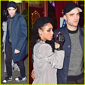 Robert Pattinson Supports Girlfriend FKA twigs at Her NYC Concert After Party!