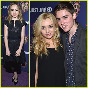 Sabrina Carpenter & Peyton List Get Glamorous For JJ's Homecoming Dance