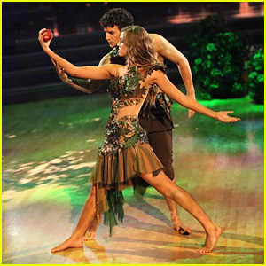 Sadie Robertson & Mark Ballas Channel Adam & Eve on 'DWTS' - See the Pics!