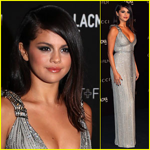 Selena Gomez Makes an Appearance at the LACMA Art + Film Gala After Having a Chill Halloween