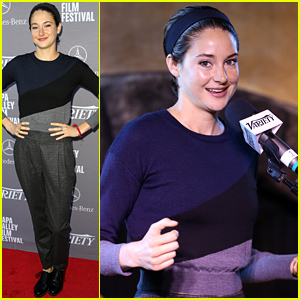 Shailene Woodley Celebrated Her 23rd Birthday with Hollywood's Producers