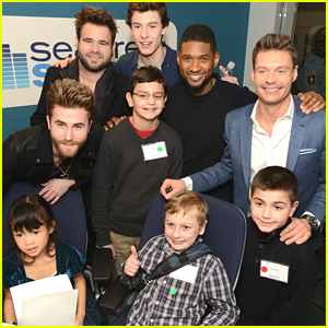 Shawn Mendes Joins The Swon Brothers For Seacrest Studio Opening in Boston