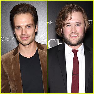 Sebastian Stan & Haley Joel Osment Bring Man Power to 'Foxcatcher' Screening