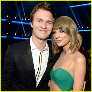 Taylor Swift & Ansel Elgort Hang Out at AMAs - See the Photo!