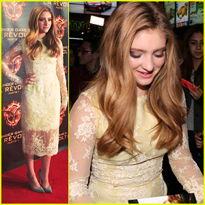 Willow Shields Brings 'Mockingjay' To Montreal - See All Her Pics From Her JJJ Takeover!