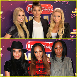 Zendaya & Alli Simpson Celebrate Radio Disney's Birthday With McClain