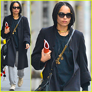 Zoe Kravitz Signs On For 'Vincent-N-Roxxy'!