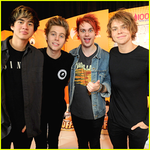 5 Seconds Of Summer Were Reunited Again at iHeartRadio's Jingle Ball in New York City