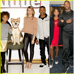Quvenzhane Wallis & the 'Annie' Cast Brighten Up NYC