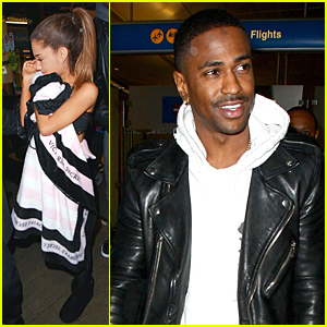 Ariana Grande & Boyfriend Big Sean Fly Back to Los Angeles On the Same Day!