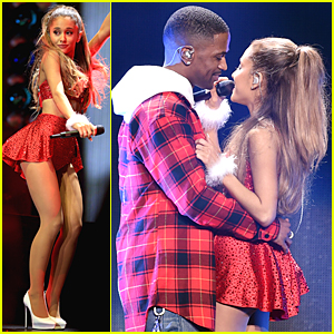 Ariana Grande & Big Sean Look Completely In Love on Jingle Ball Stage 2014