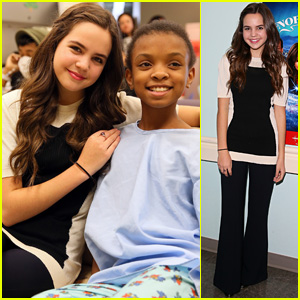 Bailee Madison Brings Christmas Surprise to Hospital Patients!
