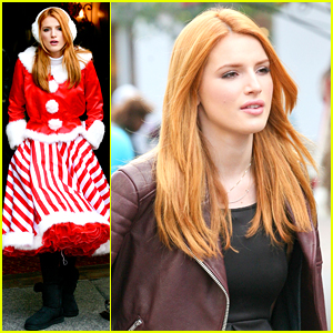 Bella Thorne Is The Cutest Santa Claus Helper Ever