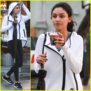 Bianca Santos Gets In A Rainy Workout In Los Angeles