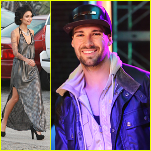Bianca Santos Shows Off Lots of Leg While James Maslow Shoots '48 Hours to Live' Music Video